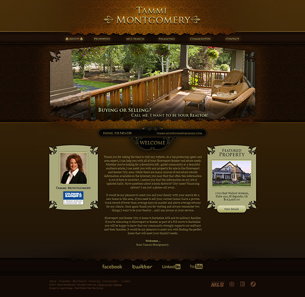 Rustic Themed Websites On Behance