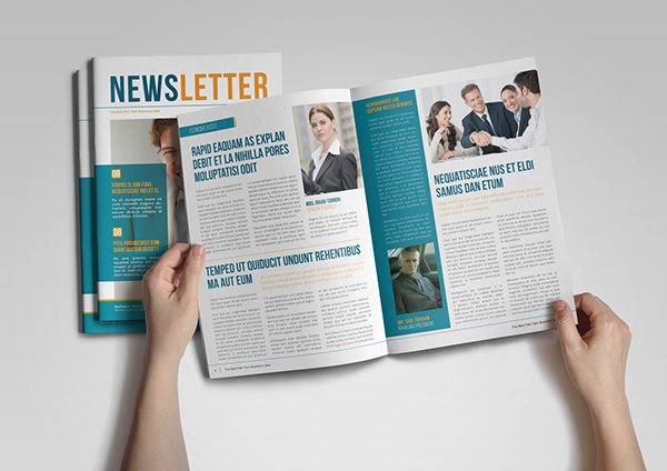 Newsletter Template On Behance