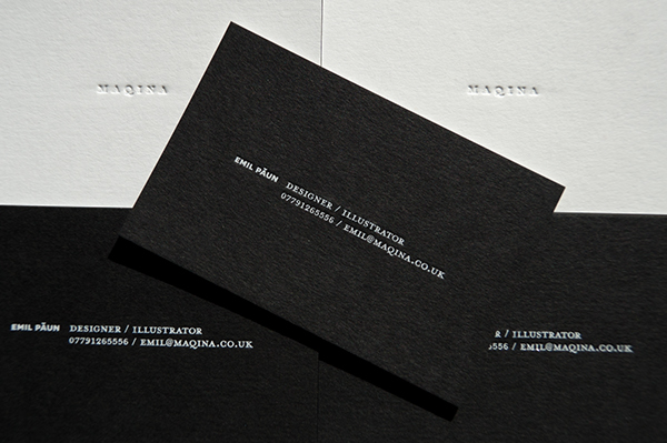 20 new business card design behance pics business cards ideas maqina business cards on behance reheart Images