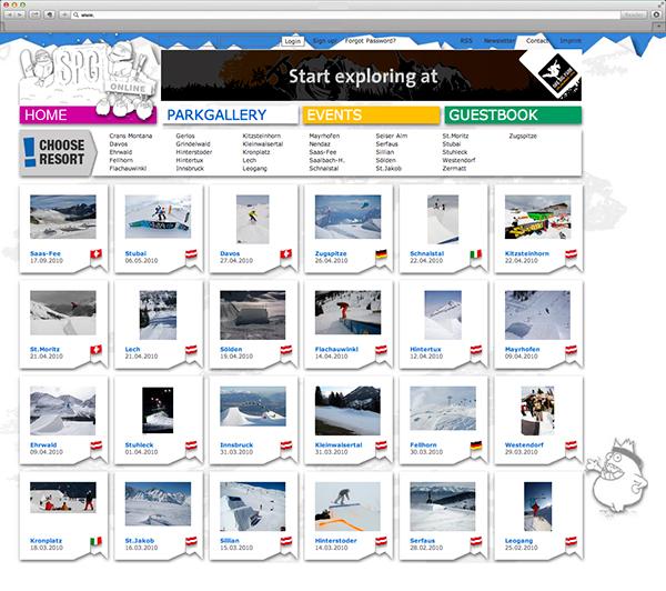 Screen Design Content Management Typo 3 content generation
