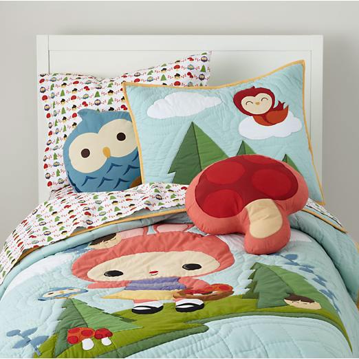 bedding set the land of nod usa on behance. Black Bedroom Furniture Sets. Home Design Ideas