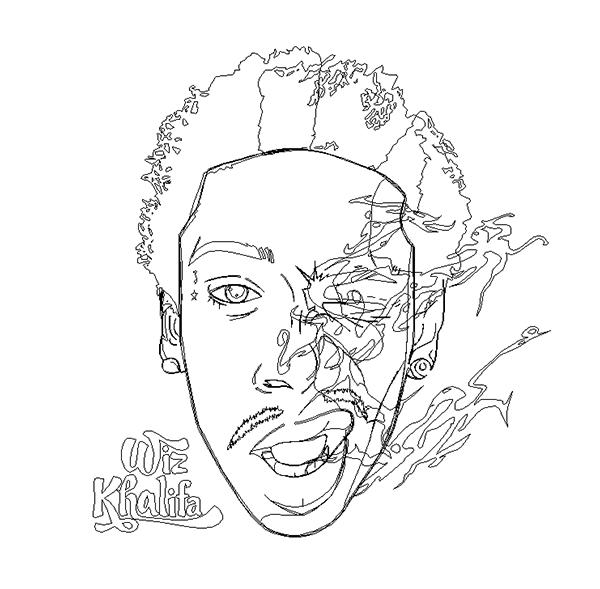 lil wayne coloring pages to print   Wiz Khalifa - Artwork on Behance