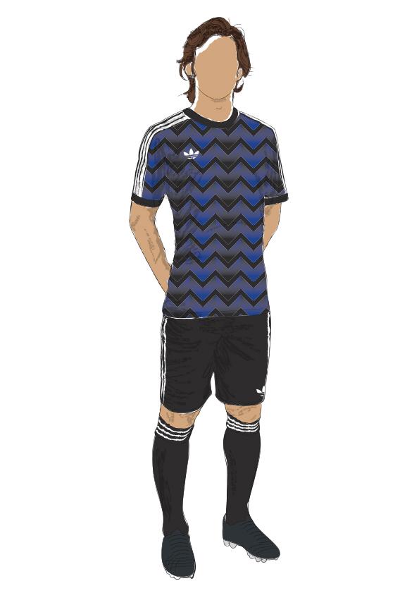 adidas adidas originals Adidas kit design Manchester United Real Madrid barcelona ac milan inter fiorentina football kit design Retro Adidas Retro Adidas football football