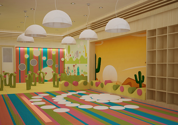 Дизайн детского сада фото