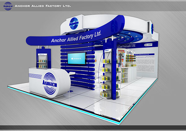 Big Exhibition Stand Design : Exhibition stand for big dubai on behance
