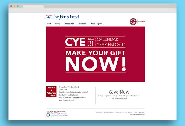 Calendar Year End : Campaign calendar year end on pratt portfolios