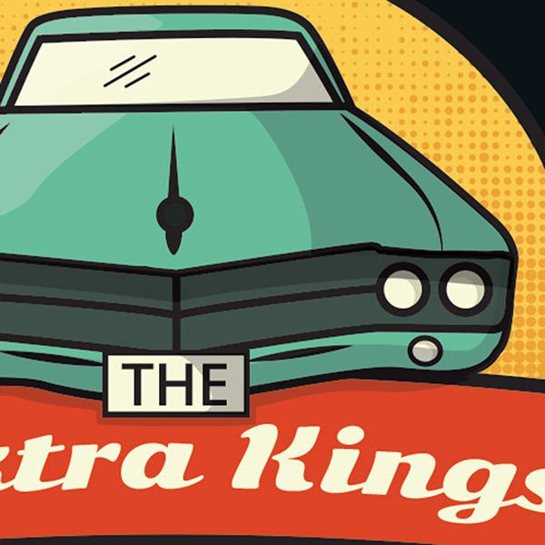 the elektra kings band logo on behance rh behance net muscle car emblem muscle car logos 99designs
