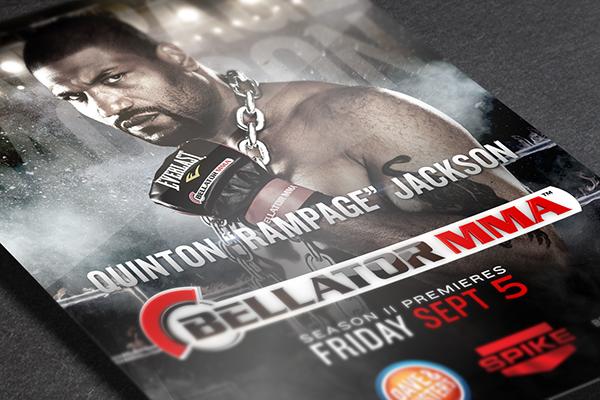 Bellator Mma Spike Tv Internship On Behance