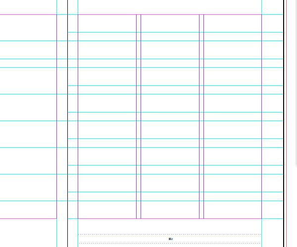 agnes cecile  watercolor  booklet  portfolio vignelli grids margins layouts  editorial  brochure