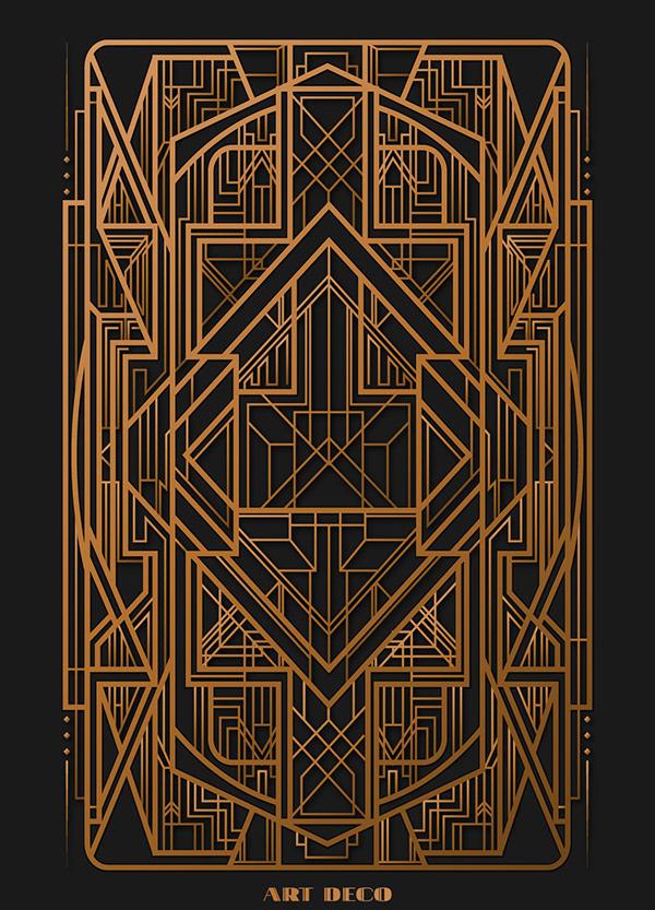 Gatsby Art Deco   Illustration