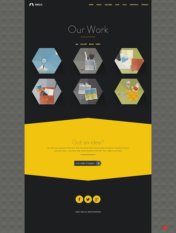 Website Webdesign business clean corporate creative flat minimal portfolio Responsive