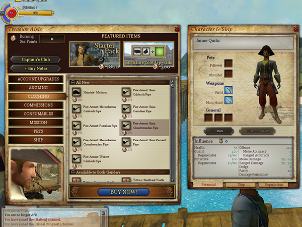 Video Game User Interface Portfolio