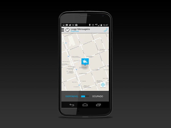 mobile Startup Logistics app