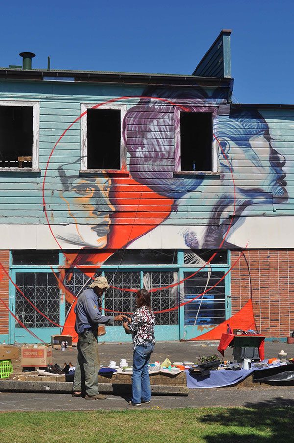Kaikohe community mural project on behance for Community mural project