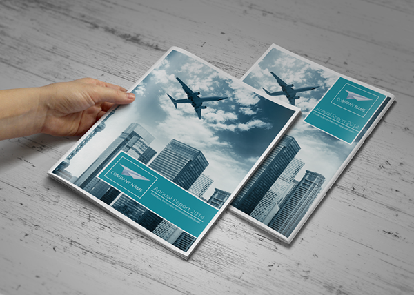 Simple Annual Report Template on Behance – Simple Annual Report Template