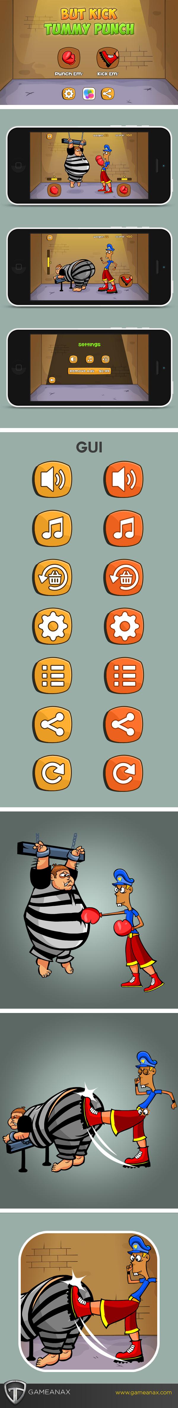 UI ux Character iphone iPad funny Games game mobile gaming Gaming