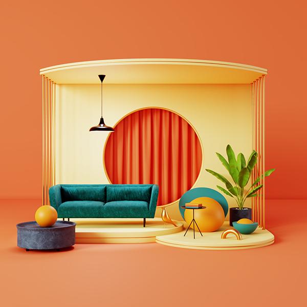 Set Design for Furniture Visualization