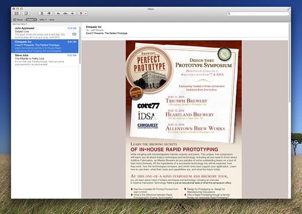 Cimquest Event event promotion Event Design promotional design postcard Web ads Email Design