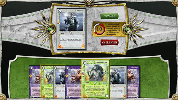 Spell Card Game Card Game Interface Design on