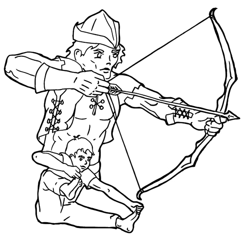 kids yoga poses coloring pages - photo#26