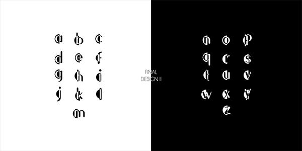 Eklipse Typeface Design
