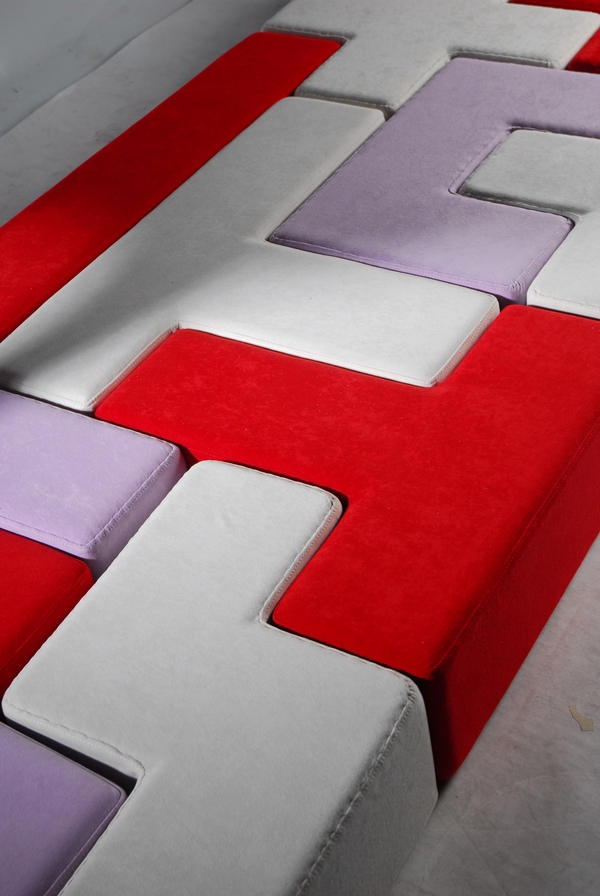 furniture modular seating design kids furniture seating furniture sofa tatris shapes interactive children Fun