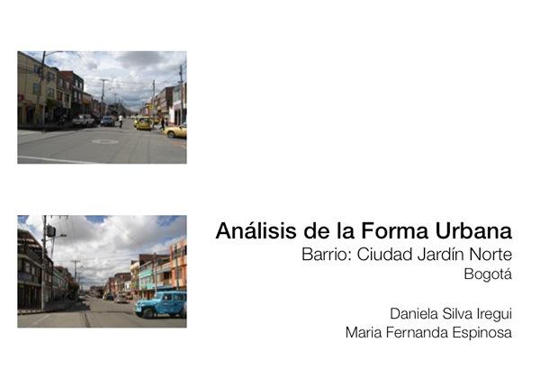 Proyecto urbano 2011 ii on los andes portfolios for Barrio ciudad jardin barranquilla