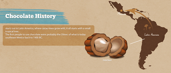 Chocolate Facts Infographics on Behance