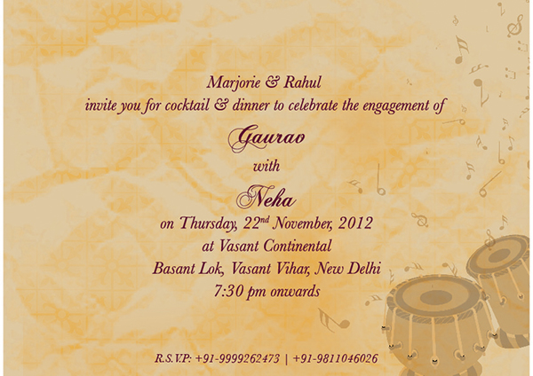 Mehndi Ceremony Cards : Invitation design on behance