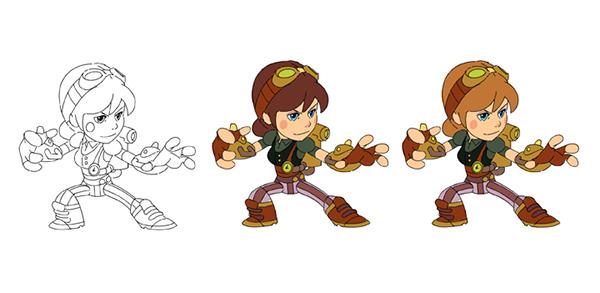 Character Design Quarterly 2 Visual Development : Brawlhalla character design on behance