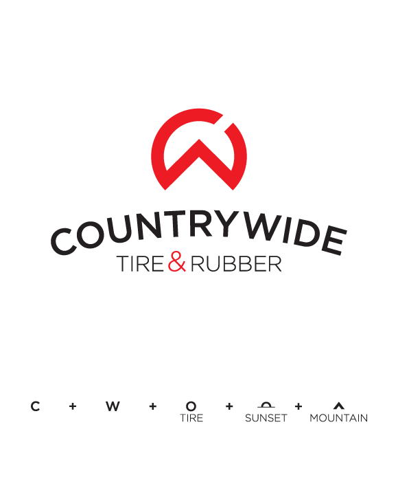 Countrywide Tire Amp Rubber On Behance