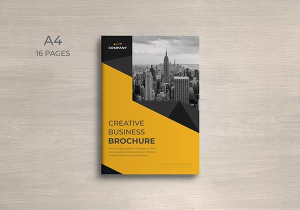 PagesCompany Profile or Company Brochure