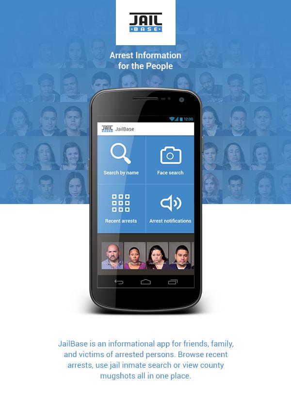 JailBase app on Behance