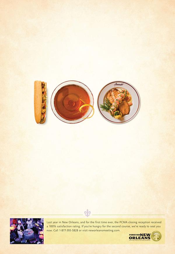 new orleans print ad NOMCVB Food  culture