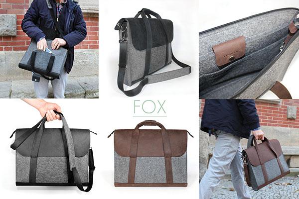 FOX Notebookbag by VANDEBAG on Behance