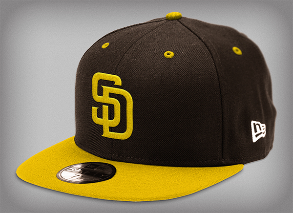 San Diego Padres Rebrand On Artcenter Gallery