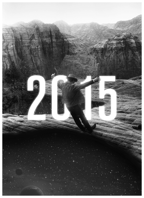 new year poster collage photo Space  stars Landscape vintage Fall unknown poem black White wishes