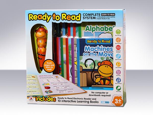 monkey reader interactive children educational