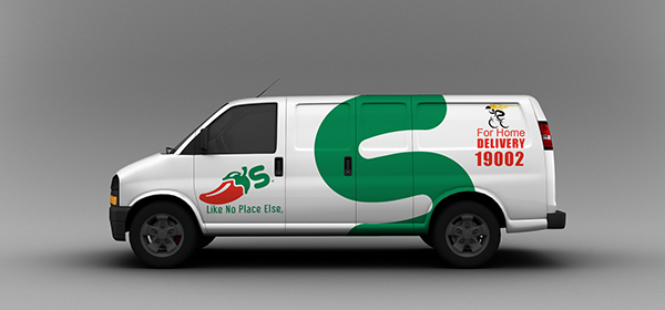 new list competitive price wide varieties Chili's Vans Advertising on Pantone Canvas Gallery
