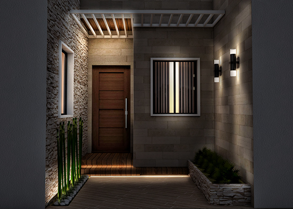 Small House Entrance On Behance