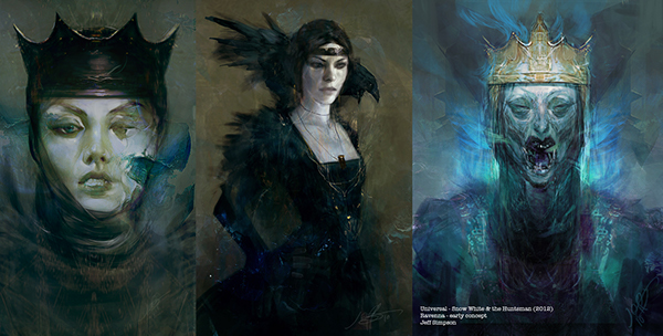 Snow White and the Huntsman - concept art on Behance