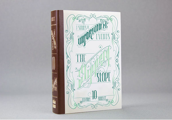 Typographic Book Cover History ~ Typographic book covers a series of unfortunate events on