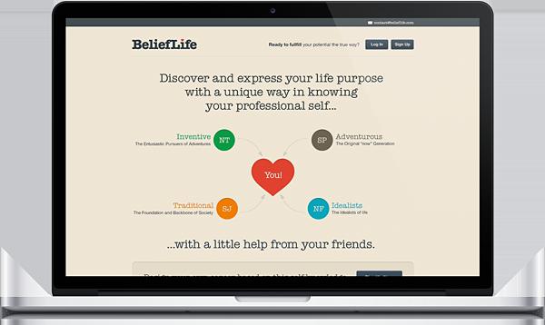 working social social-web belieflife graphic vintage Retro life belief design Webdesign