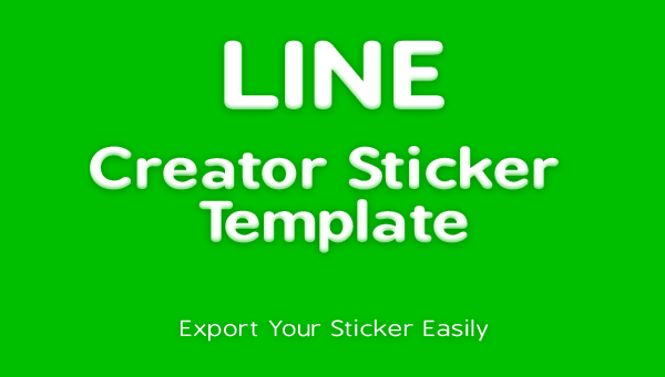 Line sticker creator template on behance