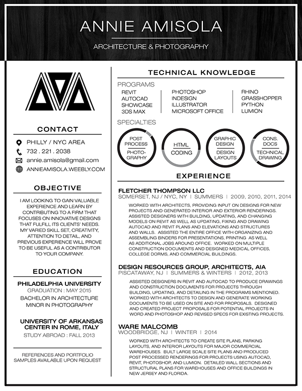 Architecture Design Resumes resume design for architects. 1000 images about resume samples