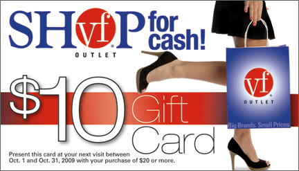 Vf outlet coupons reading pa