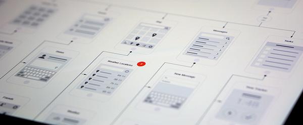 Mobile Visual Flowchart for OmniGraffle & Illustrator on Behance