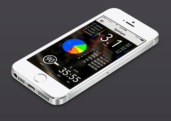 iphone ios mobile app Cycling Bike
