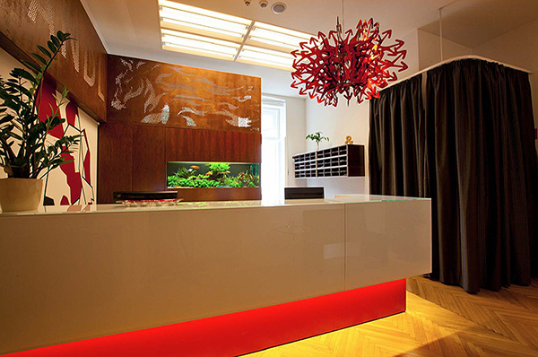 Agency interior images for Interior design branding agency
