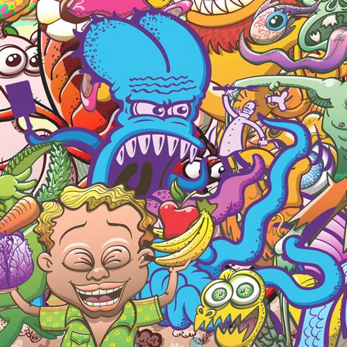 Terrific octopus in creatures festival
